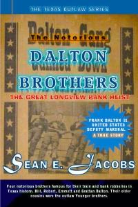 dalton preliminary cover page for dalton brothers novel
