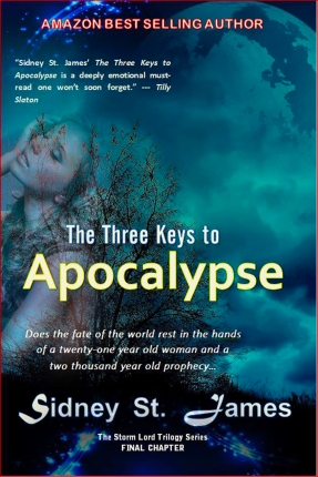 Three Keys to Apocalypse Front Cover with Girl